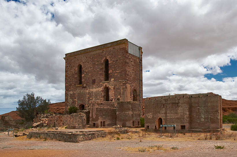 Moonta Mines engine house