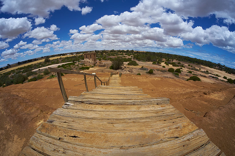 Moonta Mines fisheye view