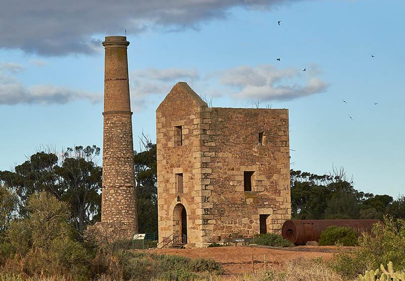 Moonta Mines smelter
