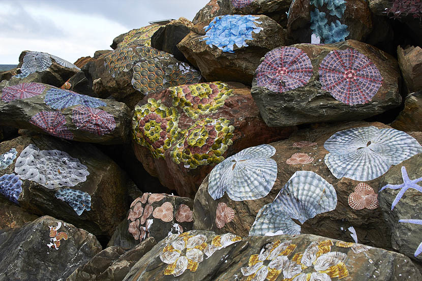 art on rocks