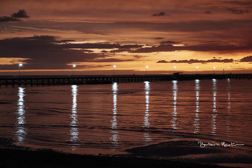 Sunset at Monta Bay Pier